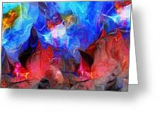Abstract 032812a Greeting Card