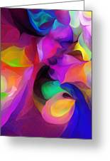 Abstract 041412 Greeting Card