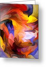 Abstract 050312 Greeting Card