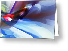 Abstract 081712 Greeting Card