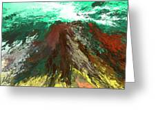 abstract 082511A Greeting Card