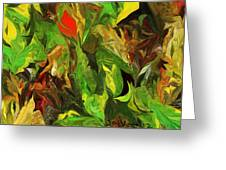 Abstract 090512a Greeting Card