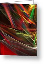 Abstract 092611 Greeting Card