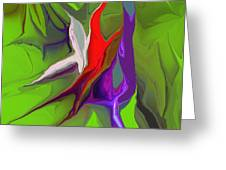 Abstract 101511 Greeting Card