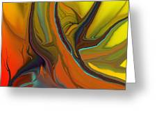 Abstract 110311 Greeting Card