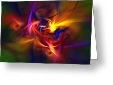 Abstract 112811b Greeting Card