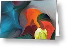 Abstract 122211 Greeting Card