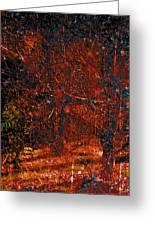 Abstract 125 Greeting Card