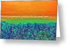 Abstract 133 Greeting Card