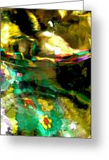 Abstract 1749 Greeting Card