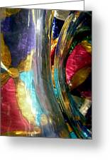 Abstract 1776 Greeting Card