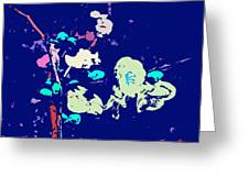 Abstract 179 Greeting Card