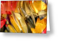 Abstract 1916 Greeting Card