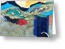 Abstract 2011 No.2  Greeting Card by Kathy Braud