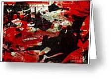 Abstract -2012 Greeting Card