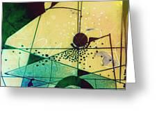 Abstract 209 Greeting Card
