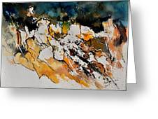 Abstract 210152 Greeting Card