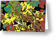 Abstract 216 Greeting Card