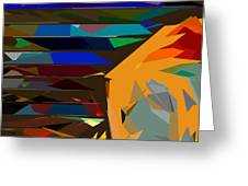 Abstract 22 Greeting Card
