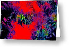 Abstract 248 Greeting Card