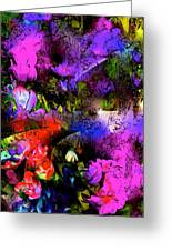 Abstract 252 Greeting Card