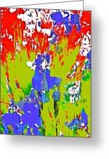 Abstract 260 Greeting Card
