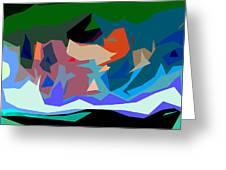 Abstract 28 Greeting Card
