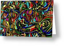 Abstract 479 Greeting Card