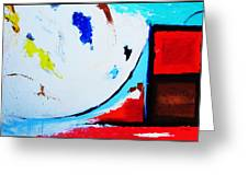 Abstract  6 Greeting Card by Snake Jagger