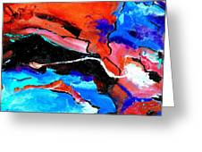Abstract 69212022 Greeting Card