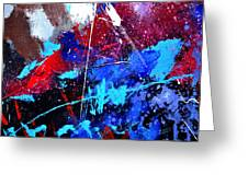 Abstract 71001 Greeting Card