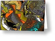 Abstract 731 Greeting Card