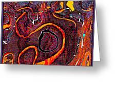 Abstract 734 Greeting Card