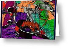 Abstract 820 Greeting Card