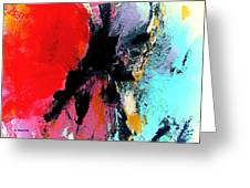 Abstract Admixture Greeting Card