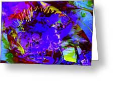 Abstract Dreams Greeting Card by Doris Wood