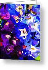 Abstract Floral 031112 Greeting Card