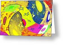 Abstract Fusion 110 Greeting Card