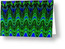 Abstract Fusion 125 Greeting Card