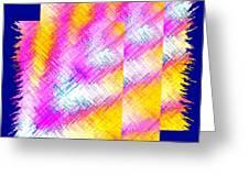 Abstract Fusion 127 Greeting Card
