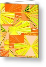 Abstract Fusion 14 Greeting Card