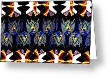 Abstract Fusion 156  Greeting Card