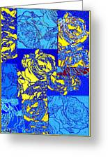 Abstract Fusion 22 Greeting Card