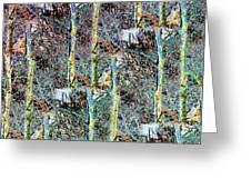 Abstract Fusion 3 Greeting Card
