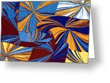 Abstract Fusion 34 Greeting Card