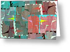 Abstract Fusion 39 Greeting Card