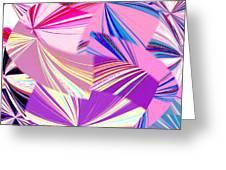 Abstract Fusion 41 Greeting Card