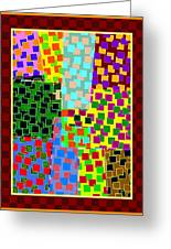Abstract Fusion 43 Greeting Card