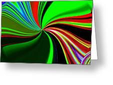 Abstract Fusion 57 Greeting Card