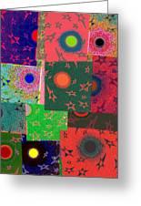 Abstract Fusion 79 Greeting Card
